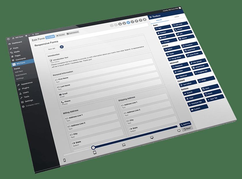 Create response Wordpress forms