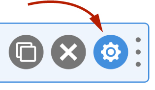 WS Form - Field Settings Icon