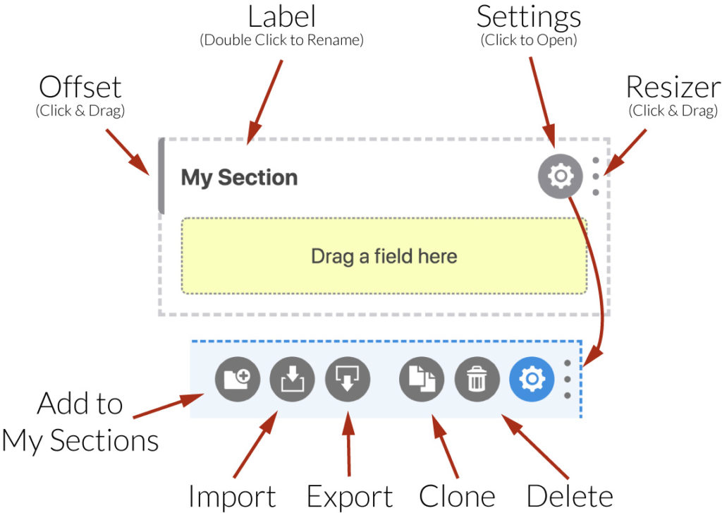 WS Form PRO - The Anatomy of a Section