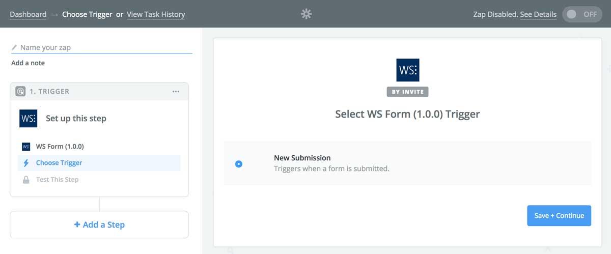 The Zapier Add-On for WordPress – WS Form