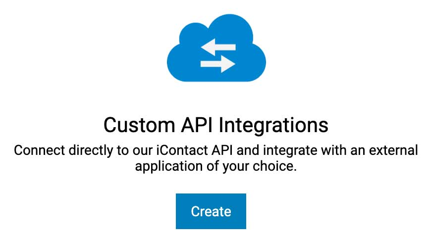iContact Create App