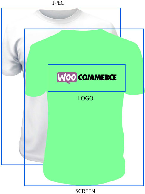 Customizable T-Shirt Product Tutorial - SVG