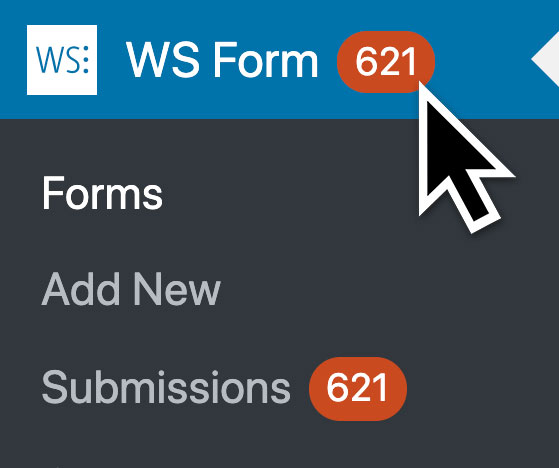 WS Form PRO - Statistics - Unread Count