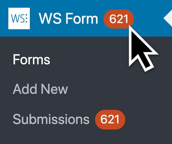 WS Form PRO - Statistics - Unread Count