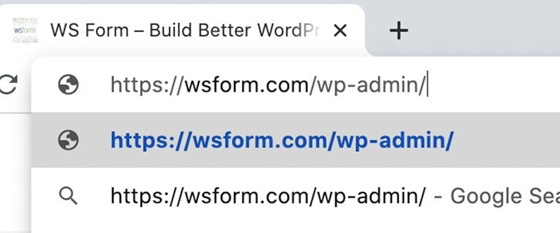 WS Form - How to Create a Contact Form in WordPress - URL