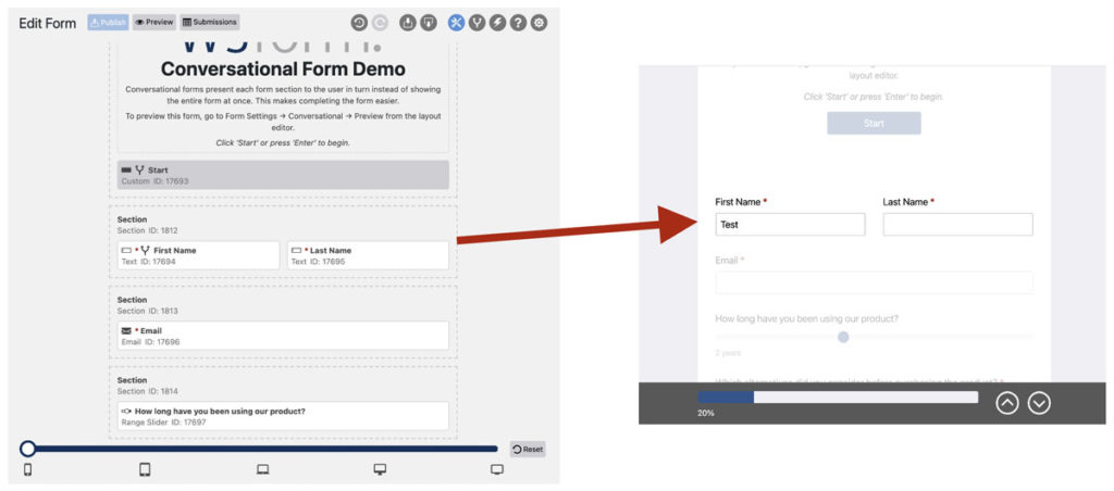 WS Form PRO - Conversational Forms - How It Works