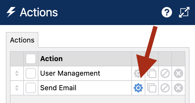 WS Form PRO - Forgot and Reset Password Form - Send Email Action Settings